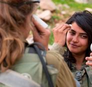 مجندات في الجيش الاسرائيلي