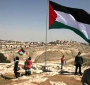 جيش الاحتلال يفجر سارية العلم الفلسطيني في سبسطية