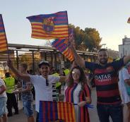 نجاة 3 فلسطينيين من هجوم برشلونة
