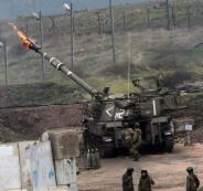 المدفعية الاسرائيلية تقصف سوريا