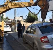اتلاف مركبات في القدس