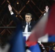 شعبية الرئيس الفرنسي