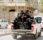 الاجهزة الامنية في قطاع غزة