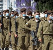 الجيش الاسرائيلي وفيروس كورونا