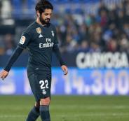غياب ايسكو عن ريال مدريد