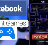 الالعاب الفورية في فيسبوك