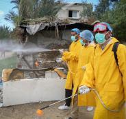 اصابة جديدة بفيروس كورونا في غزة