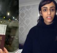 فتاة قطرية تهرب وتطلب اللجوء