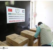 تركيا تقدم مساعدات لعائلات فقيرة في غزة