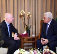 عباس ومبعوث ترامب الخاص للسلام