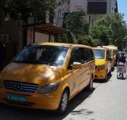 عمال النقل العام في فلسطين