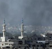 قصف اسرائيلي في غزة
