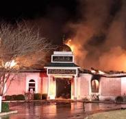 حرق مسجد في تكساس
