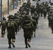 الجيش الاسرائيلي على حدود غزة