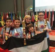 طلبة فلسطين يحصدون المركز الثاني بمسابقة الحساب الذهني العالمية