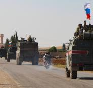 الجيش الامريكي والقوات الروسية في شمال سوريا