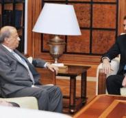 ميشال  عون وبشار الأسد