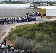 عمال فلسطينيين في اسرائيل