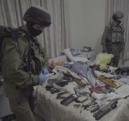 اعتقالات ومصادرة اسلحة في الخليل