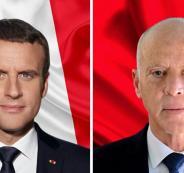 الرئيس التونسي في فرنسا