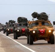 الجيش السوري والجيش التركي
