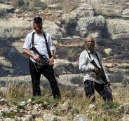 مستوطنون مسلحون في جنين