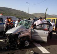 مصرع مواطنين بحوادث سير بالضفة الغربية