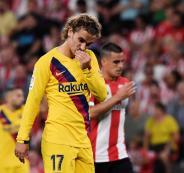 برشلونة يتعرض لهزيمة مفاجئة من بلباو في الدوري الاسباني