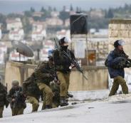 الجيش الاسرائيلي ينتشر في الضفة الغربية