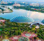الطبيعة-فى-سنغافورة.