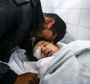 الشهيد الطفل أحمد ياسر أبو عابد