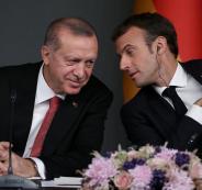 ماكرون واردوغان وتركيا وفرنسا