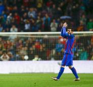 برشلونة يتصدر الدوري الاسباني