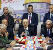 الحمد الله: ملف الأمن في غزة سيحل بشكل تدرجي ومدروس