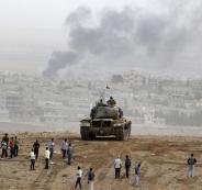 داعش والاكراد في سوريا