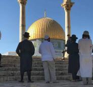 اقتحام المسجد الاقصى المبارك