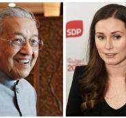 رئيس وزراء ماليزيا ورئيسة وزراء فنلندا