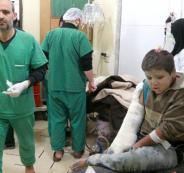 الهجمات على المستشفيات في سوريا
