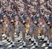 الحرس الثوري الايراني وترامب