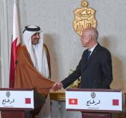 الرئيس التونسي وقطر