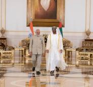 الامارات ورئيس الوزراء الهندي