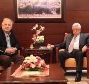 لقاء الرئيس مع حنا ناصر رئيس لجنة الانتخابات