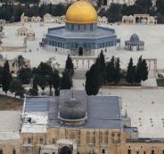 الحفريات الاسرائيلية أسفل المسجد الأقصى