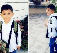 اول طفل فلسطيني من نظف مهربة