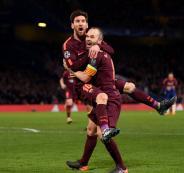 اهداف برشلونة تشلسي