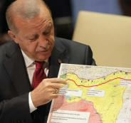 اردوغان واللاجئيين السوريين في ادلب