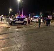 الشرطة تضبط مفحطين في رام الله