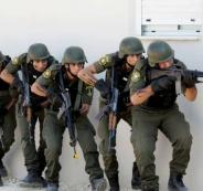 الاجهزة الامنية الفلسطينية ونابلس