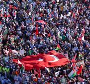تركيا واسرائيل والفلسطينيين