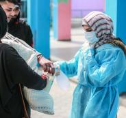 تسجيل اصابات بفيروس كورونا في فلسطين